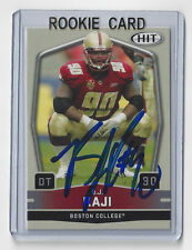 2009 PACKERS BJ Raji signed Rookie card #69 Sage HIT AUTOGRAPHED RC Green Bay