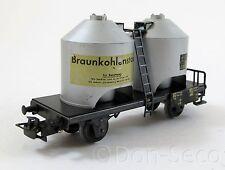 Märklin Güterwagen Staubsilowagen Braunkohlenstaub Spur H0