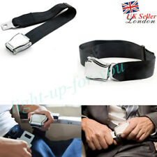 Adjustable Airplane Safe Seat Belt Extension Extender Airline/Buckle Aircraft