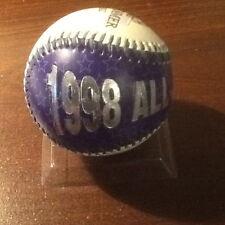 1998 MLB ALL-STAR GAME EMBOSSED BASEBALL