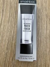 Smashbox Photo Finish Smooth & Blur Foundation Primer 12ml Travel Size Oil-Free