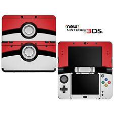 Vinyl Skin Decal Cover for Nintendo New 3DS - Pokemon Pokeball