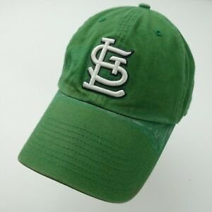 St Louis Cardinals Green Adjustable Adult Baseball Ball Cap Hat