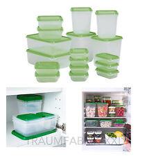 IKEA Behälter Großes Set 17-tlg Frischhaltedosen Aufbewahrungsdosen Vorratsdosen