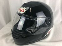 BELL FULL FACE Black MOTORCYCLE SPRINT HELMET SNELL M2000 Size XS Vented