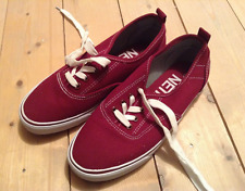 Sonneti women's red sneakers/pumps - UK 4 EU 37 - trainers skate canvas fun Vans