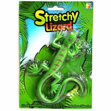 Mega Stretchy Lizard Toy - Assorted Colour Green or Purple - Sensory Toy Gift
