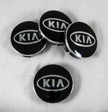 4 Pcs Set New Aluminum Center Cetre Hub Caps 60/56mm For KIA Alloy Wheel Rims