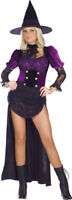 Morris Costumes Women's Witch Sorceress Witch Burlesque Costume S/M. FW121394SD