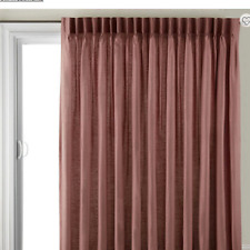 Pinch pleat curtain back tab patio lavender JCPenney $300 one panel