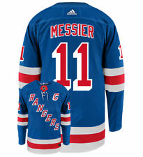Mark Messier New York Rangers Adidas Authentic Home NHL Vintage Hockey Jersey
