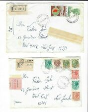 Italy 2 Registered Covers