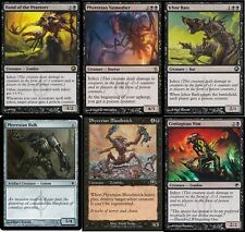 Mono Black Infect Deck #2 - Phyrexian Vatmother 60 Cards Magic The Gathering MTG