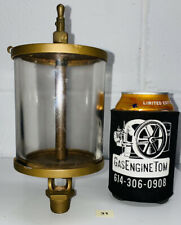 American Injector No 6 Oiler Hit Miss Gas Engine Steampunk Antique Steam Vintage