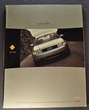 2001 Audi 69pg Brochure TT S4 Avant A4 A6 S8 A8-L A8 Allroad Excellent Original
