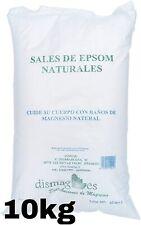 Nouvelle annonce Sel d'Epsom 10Kg Source concentrée de Magnésium Sel100% Naturel livraison gratui