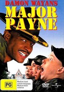 Major Payne -Rare DVD Aus Stock Comedy New Region 2,4,5
