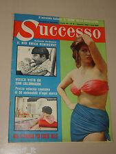SUCCESSO=1961/8=CLAUDIA CARDINALE=ANTONIO ORDONEZ=FIDEL CASTRO=ERNEST HEMINGWAY