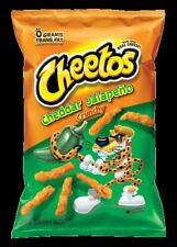 Cheetos Cheddar Jalapeno Crunchy Chips