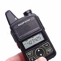 Baofeng BF-T1 Mini walkie talkie UHF 400-470MHz 20CH Ham Two-way Radios bf-t1 FM