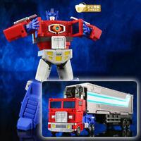 """JinBao OP Optimus Prime Ko DX9 Autobot Deformable 5"""" Action Figure Robot Kid Toy"""