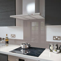 Premier Range Cappuccino - Colour Splashback Glass UPSTAND 140 x 1000mm
