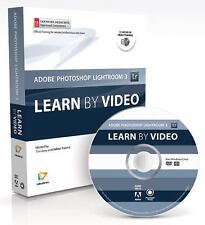 LEARN ADOBE PHOTOSHOP LIGHTROOM 3 BY VIDEO By Mikkel Aaland **BRAND NEW**