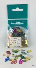 Zahlen Metall 40 Konfetti Streudeko 9 gr. farbig ausgestanzt  Party Geburtstag