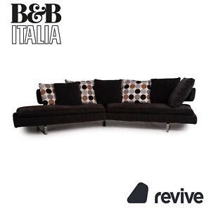 B&B Italia Arne Stoff Sofa Grau Ecksofa Couch