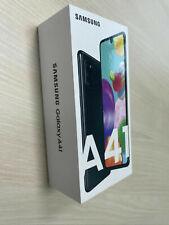 Samsung Galaxy A41 Smartphone Schwarz Dual-SIM 64GB Android 10.0 A415F NEU OVP