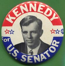 1964 ROBERT KENNEDY RFK SENATE PIN BUTTON