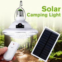 22LED Outdoor Indoor Solar Lamp Hooking Camp Garden Path Lighting Remote Control