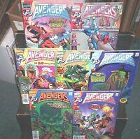 Avengers United They Stand #1 2 3 4 5 6 7 FULL SET Marvel Comics FOX KIDS NM 9.4