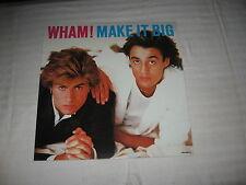 Wham! Make It Big album flat record store poster 1984 George Michael