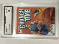 2019-20 Donruss Basketball Crunch Time #10 Luka Doncic Dallas Mavericks Graded N