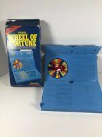 Wheel of Fortune Travel game Pressman Vintage 1988
