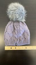 North Face Girls Youth/Junior (S/P) Winter Hat (Beanie) Purple