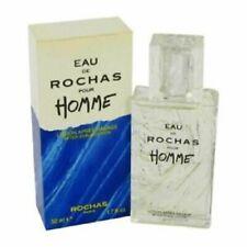"""Rochas Paris """" Eau de Rochas Pour Homme """" after Shave ML 100 Vintage And"""