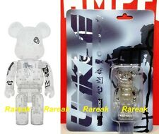 Medicom Be@rbrick 2010 Unkle x Futura 100% Clear Bearbrick 1pc