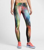 Women's Nike Epic Run Power Printed Women`s Running Tights 831806 429, Small