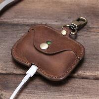 Für AirPod Pro Leder Schutzhülle Wireless Earphone Charging Case Box