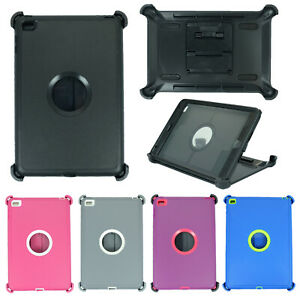 For Apple iPad Mini 4/5 Defender Case w/ Screen Protector & Stand fits Otterbox