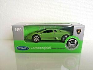 🚓 WELLY NEX CAR Scale Model 1:60 LAMBORGHINI Murcielago green