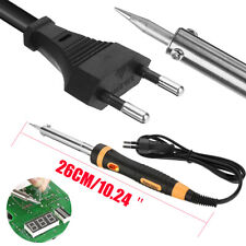 220V 60W EU Electric Soldering Iron High Quality 500℃ Heating Iron Welding Tool