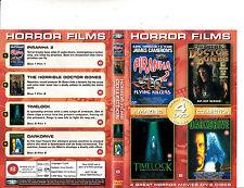 Piranha:2-1981-Tricia O'neil/The Horrible Doctor Bones/Timelock- Movie-2 DVD