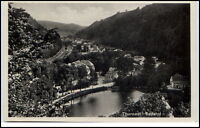 Tharandt Sachsen alte Ansichtskarte ~1930/40 Gesamtansicht Panorama Ansicht