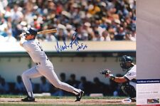 MR. 3000!!! Wade Boggs Signed NEW YORK YANKEES 11x14 Photo W/ HOF PSA/DNA