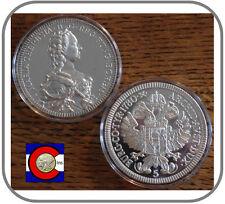 """1986 Austria """"1780 Maria Theresia (Teresa)"""" 5 oz 0.999 Silver Thaler"""