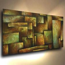 ABSTRAIT art original Peinture Moderne Contemporain décor Mélange Lang