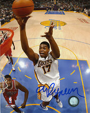 ANDREW BYNUM Authentic Hand-Signed LOS ANGELES LAKERS 8x10 Photo